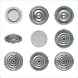 Difusores Circulares y Bocas de Extracción